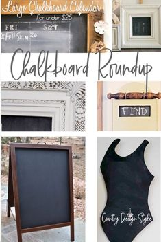 Need ideas for chalkboards? This will help you get ideas of your DIY chalkboards. Created at Country Design Style. #chalkboards #DIYchalkboard #chalkboarddesigns Large Framed Chalkboard, Chalkboard Easel, Chalkboard Calendar, Chalkboard Designs, Old Frames, Do It Yourself Crafts, Chalkboards, Decorating Blogs, Creative Crafts