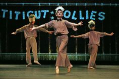 """Frederick Wiseman's landmark 1967 documentary about a prison for the insane has been transformed into """"Titicut Follies: The Ballet."""""""