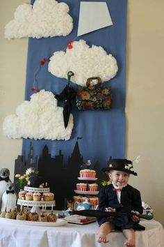 Mary Poppins birthday  #costume #halloween #marypoppins #jandjdesigngroup