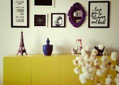 Aparador amarelo incrível! amamos! #diy #faça você mesmo. #decor