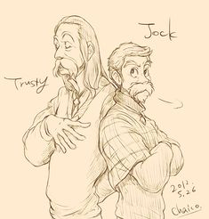 Jock and Trusty From Lady and the Tramp