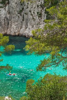 """We must take adventures in order to know where we truly belong. Cassis France, Belle France, Water Spots, Beautiful Places To Travel, Summer Dream, Europe Destinations, Camping, France Travel, Travel Pictures"