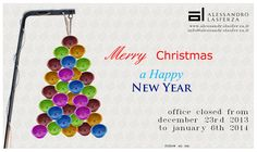 Merry Christmas and Happy New Year by Alessandro Lasferza Factory