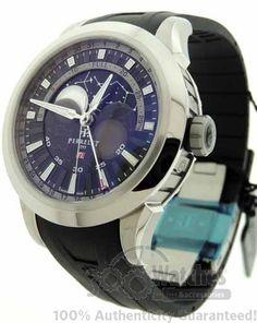 $2,540 Men's #Perrelet A5000/2 Constellation Moon Phase Titanium Date Watch | Buy watches online