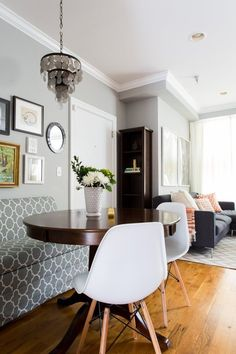 coventry gray bm 10 Perfect-For-Fall Real Room Colors (Plus Paint Names!) | Apartment Therapy