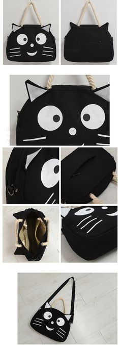 adorable cat purse from sechuna