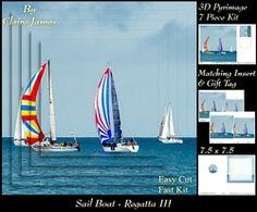 Boats   Sailing   Regatta Pyrimage Pyramid   Insert   Tag on Craftsuprint - View Now!