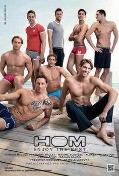 Une sélection de sous-vêtements, maillots de bain, pyjamas, … en solde jusqu'à -30% chez HOM