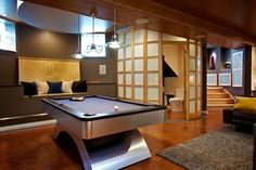 Basement Remodel - modern - Basement - Chicago - Gina Bon, Airoom Architects & Builders LLC