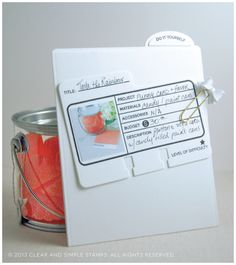 CSS DIY Project Folder | Clear and Simple Stamps | Created w/ the File It, File It: DIY Stamp Sets, and Stationery Organizer Dies | Project Portfolio | DIY Planner