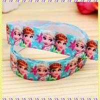 5/8'' Free shipping Fold Over Elastic FOE fever printed headband headwear hair band diy decoration wholesale OEM B936