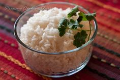 Three-Minute Pressure Cooker White Rice | Pressure Cooking Today