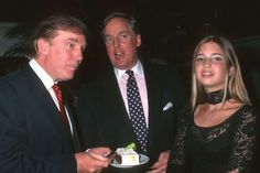 June 2, 2015 -   DONALD TRUMP: LIFE IN PHOTOS -    Donald Trump, Robert Trump, and Ivanka Trump during Donald Trump's 50th Birthday Party on June 13, 1996, at Trump Tower in New York City.   -  © Ron Galella/WireImage/Getty Images