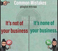 English Idioms, English Phrases, Learn English Words, English Lessons, English Grammar, Improve English Writing, English Learning Spoken, English Writing Skills, Study English Language