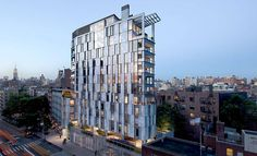 Situated at a rare combination mid-block/corner site, at the intersection of three major neighborhoods in lower Manhattan, the 14-story project includes 25 l...