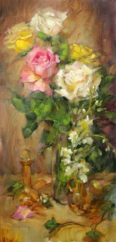 Barbara Schilling: Softly Spectacular 12x24  oil on linen