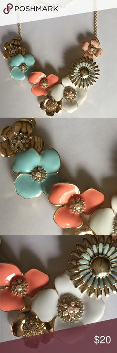 Perfect Petals Multicolored Necklace Perfect Petals Multicolored Necklace with extender Jewelry Necklaces