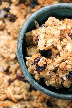 Cherry Almond Granola CORN FREE / DAIRY FREE / EGG FREE / GLUTEN FREE / HEALTHY RECIPES / NIGHTSHADE FREE / SOY FREE / VEGETARIAN / WHEAT FREE.
