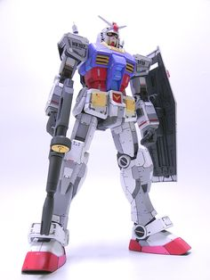 1/48 Mega Size Model RX-78-2 Gundam: Improved, Modeled by BBull. Full Photoreview No.29 Big Size Images | GUNJAP