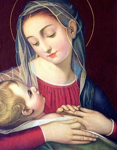 """""""Olhai: para a nossa Mãe Santa Maria, jamais deixamos de ser pequenos, porque Ela nos abre o caminho para o Reino dos Céus, que será dado aos que se fazem crianças"""" São Josemaria Escrivá"""
