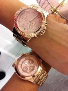 I love the way rose gold looks. I'm not a watch person but I want one of these.