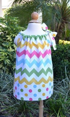Easter Dress for little girls  pastel by LilBambinaBoutique, $19.99