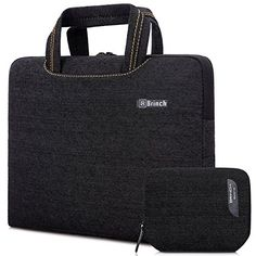 Protective Laptop Sleeve Case Notebook Briefcase Compatible Crossbody,Waterproof with Handle Bag 14 15.6 Inch