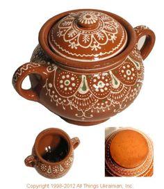 AllThingsUkrainian.com Ukrainian Hutsul Pottery   # HC12001