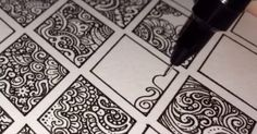 This Artist Is About To Hypnotize You, And All He Needs To Do It Is A Black Pen