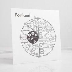 Portland Letterpress Print