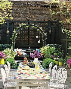 urban patio