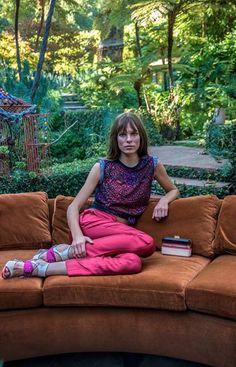 Kat Hessen by Lisa Eisner for Ferragamo