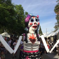 A parade figure at The Hollywood Forever Cemetery #hollywoodforevercemetery #diadelosmuertos