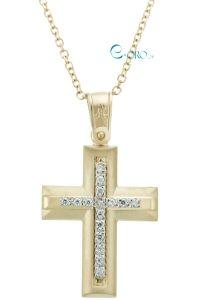 Γυναικείος Σταυρός Χρυσός 14 Καράτια - E-oro.gr ΧΡΥΣΑ ΛΕΥΚΟΧΡΥΣΑ ΚΟΣΜΗΜΑΤΑ Symbols, Jewellery, Gold, Jewels, Schmuck, Jewelry Shop, Glyphs, Jewlery, Jewelery