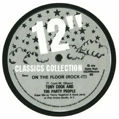 Tony Cook | The Party People - On The Floor (Rock It) (unknown label) #music #vinyl #musiconvinyl #soundshelter #recordstore #vinylrecords #dj #Disco
