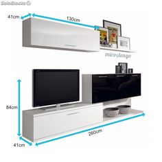 40 Cool TV Stand Dimension And Designs For Your Home - Engineering Discoveries Wall Unit Designs, Tv Stand Designs, Living Room Tv Unit Designs, Bedroom Wall Designs, Tv Wall Design, Tv Unit Furniture Design, Tv Unit Interior Design, Home Engineering, Tv Wall Cabinets