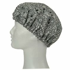 Tango Home  Damask Shower Cap by Tango Home. $9.00. Adult-one size fits all. 100-percent cotton with polyurethane coating. Elastic band fits comfortably around head. Sing in the shower and wear a fun fashion pattern while doing so. These shower caps hace come a long way from the plastic, simplistic caps your mother used to wear.