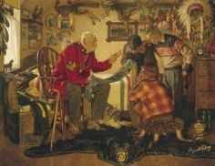 Arnold Friberg- Love his paintings