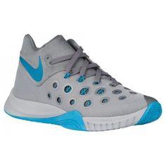 9233c4e30a4a0 Nike Zoom Hyperquickness 2015 - Men s - Basketball - Shoes - Wolf Grey Blue  Lagoon Cool Grey-sku 49882040