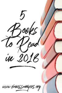 Check out my top 5 books for you to read in 2018.
