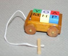 mini pull toy