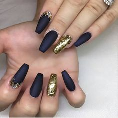 Black And Gold Nail Designs Collection black and gold nails gold nail designs gold nails black Black And Gold Nail Designs. Here is Black And Gold Nail Designs Collection for you. Black And Gold Nail Designs verkurzen stiletto verkrzen nagels de. Dark Blue Nails, Black Gold Nails, Navy Nails, Blue Gold, Gold Glitter, Glitter Nails, Matte Gold, Navy Acrylic Nails, Dark Nails With Glitter