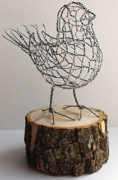 Wire Sculptures by Ruth Jensen