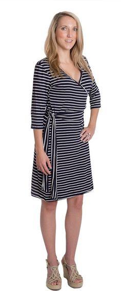 9459f2d9e97 Whimsical Wrap Nursing Dress Maternity Nursing Dress, Nursing Wear,  Maternity Fashion, Wrap Dress