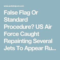 false flag election day