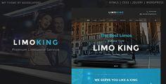 Limo King  Limousine Transport Car Hire WordPress Theme