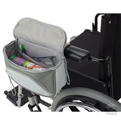 Zippidy Wheelchair Armrest Organizer - Classic Accessories 62-011-011001-00 - Space Savers - Camping World