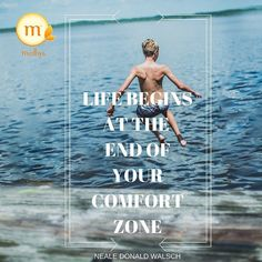 """""""Life begins at the end of your comfort zone!!"""" Morning Folks!! Start off your awesome week with this beautiful thought from Neale Donald Walsch. . . #medhya#medhyaherbals#mondaymotivation #mondaymorning#ayurveda#detox#natural#herbal#herbs#healthyfoods#naturopathy#inspiration#quotes#health#lifestyle#getmoving#goals#success#nutrition#healthy#instahealth"""