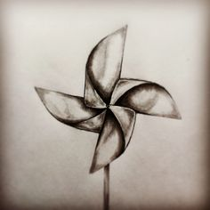 Pinwheel tattoo sketch by - Ranz