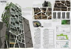 architecture_competition_1_2_by_alefeanor.jpg 2 000×1 400 пикс #fachadasverdesarchitecture